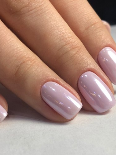 Экспериментируйте с цветом ногтей