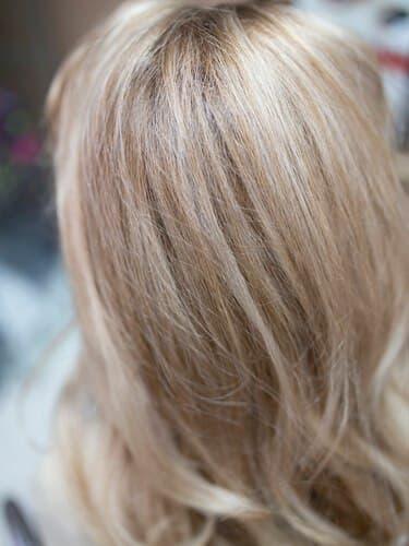 Модный блонд